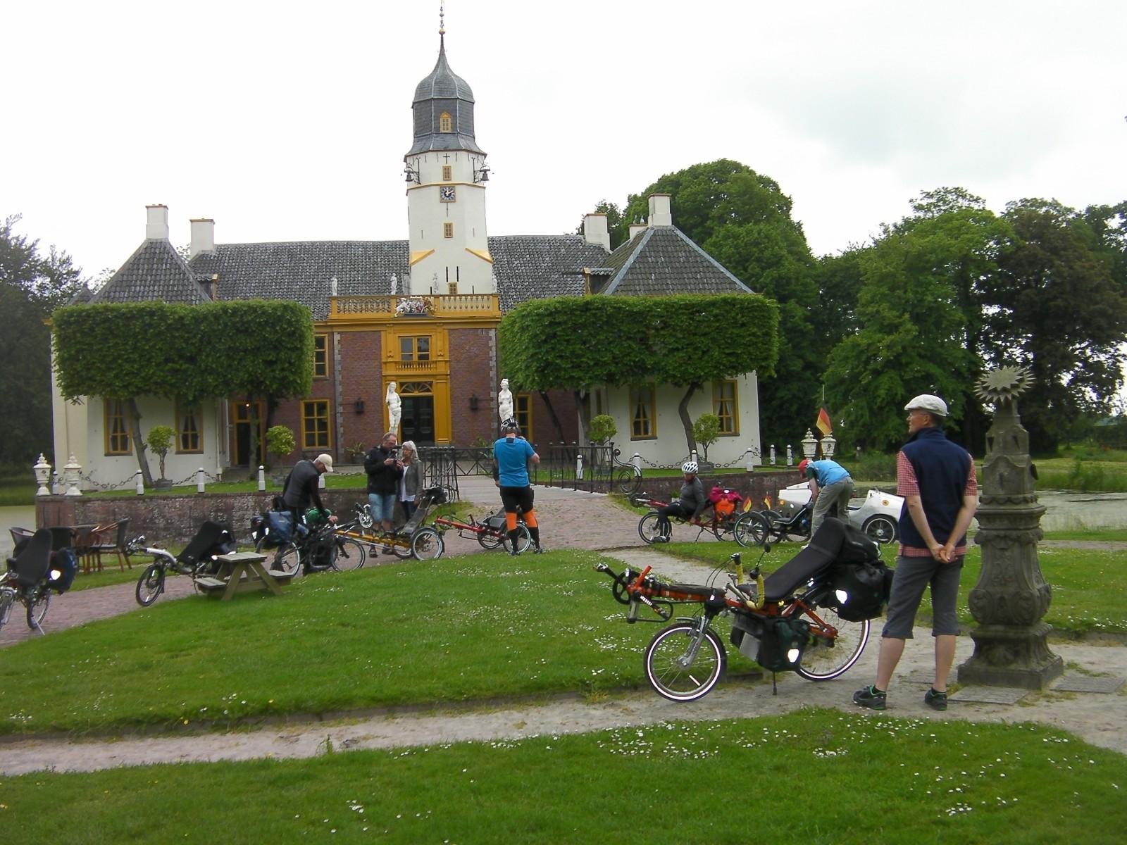 Landgoed Fraeylemaborg in Slochteren