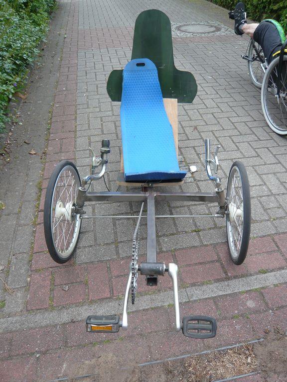 Das neuste Fahrzeug von Fidi, für zügiges synchrontreten...?!