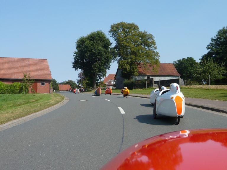 Die Anfahrt zur Mitte von Niedersachsen mit den Oldenburgern und Bremern.