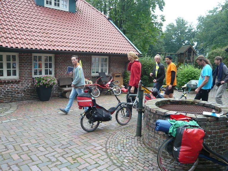 Ankunft bei Martin M. in Neuenburg.