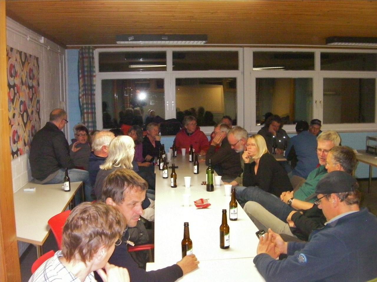Gemütliches Plaudern in der Jugendhergerge Rotenburg