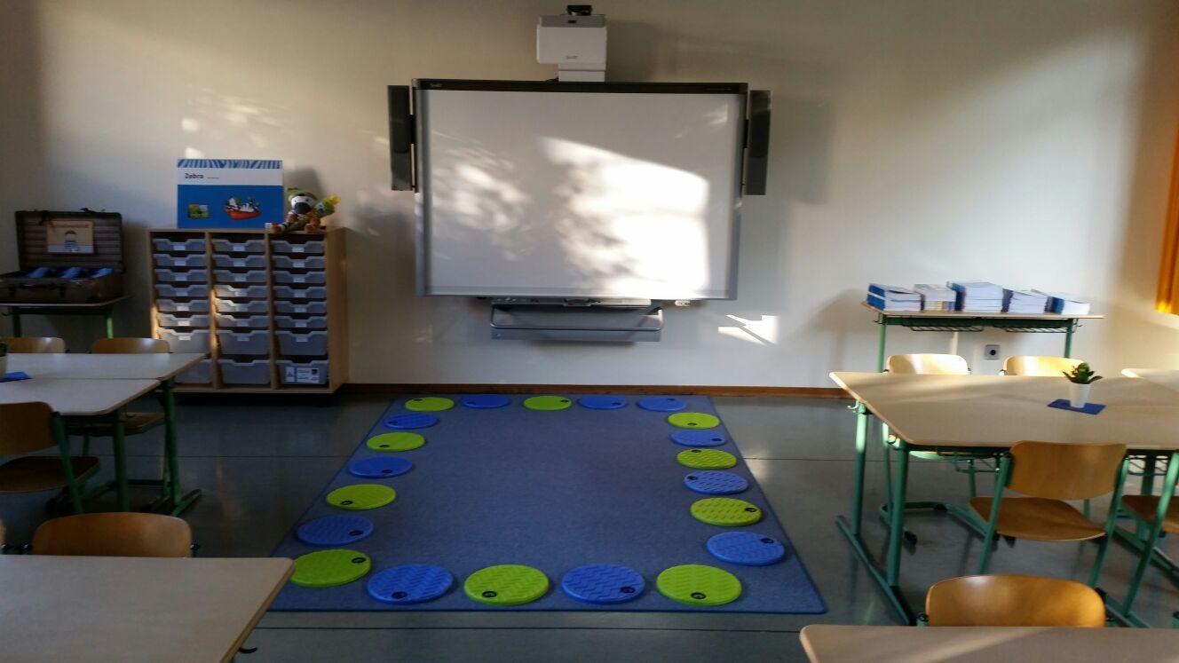 Beispiel für einen Klassenraum