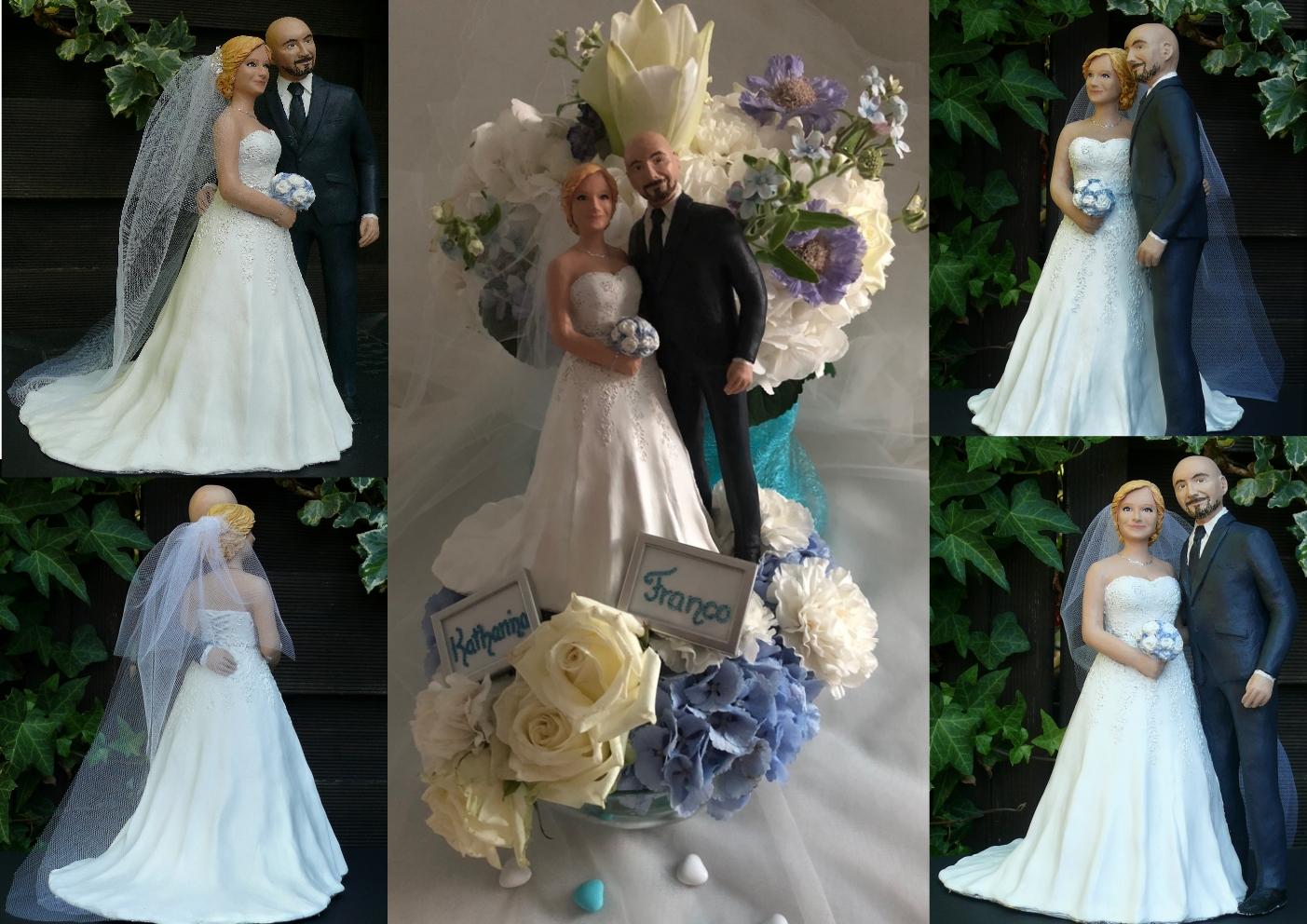 Individuelles Brautpaar nach Fotos