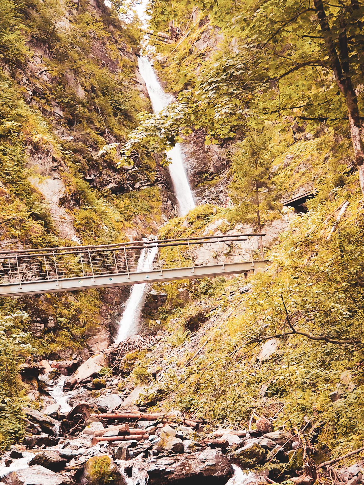 der Eifersbacher Wasserfall