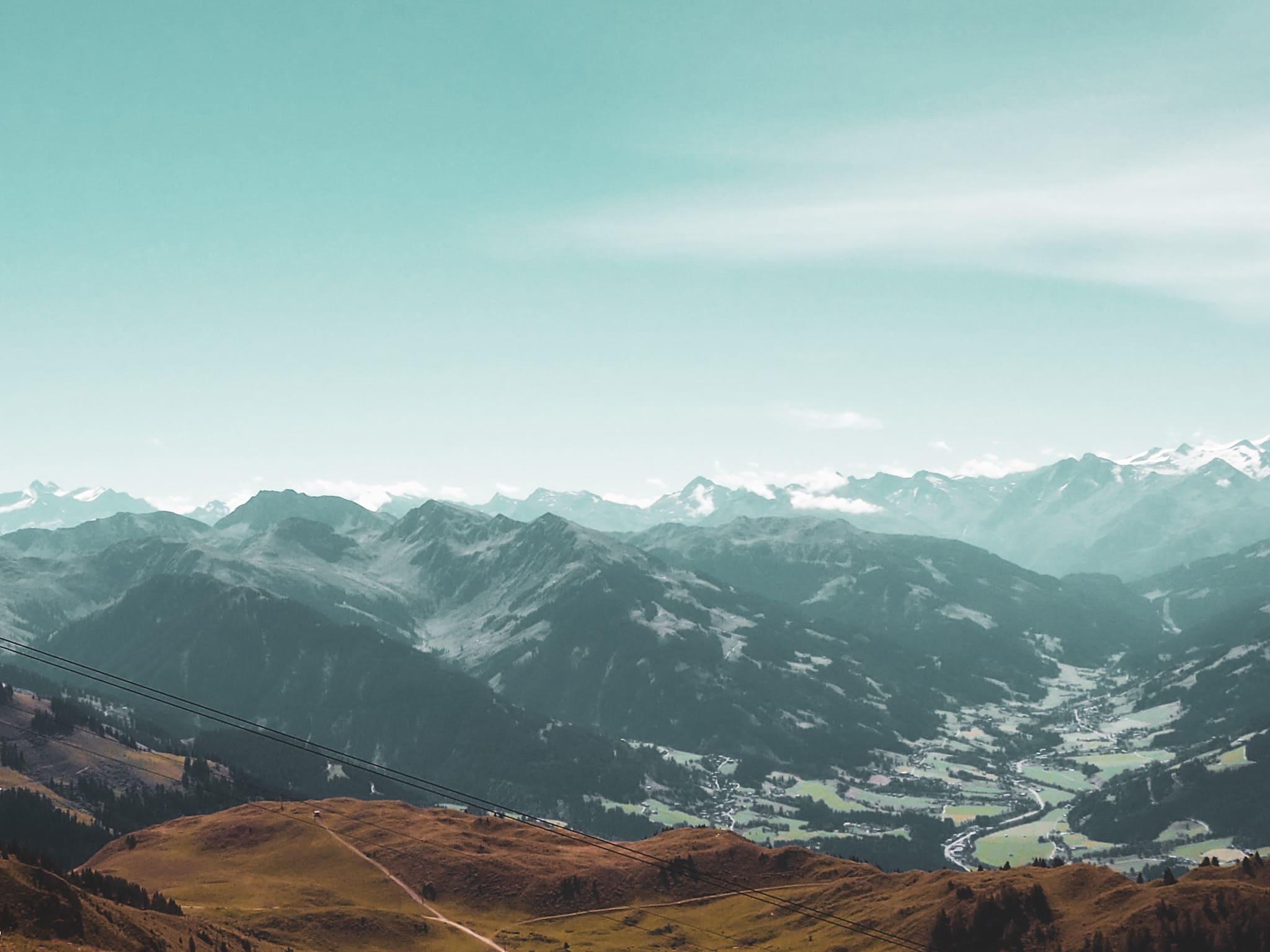 Der Blick vom Gipfel