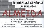 Club de pelote de Ciboure - Entreprise générale du bâtiment Almeida