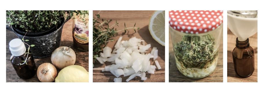 Zubereitung Zwiebelhustensaft - Lieblingsrezept