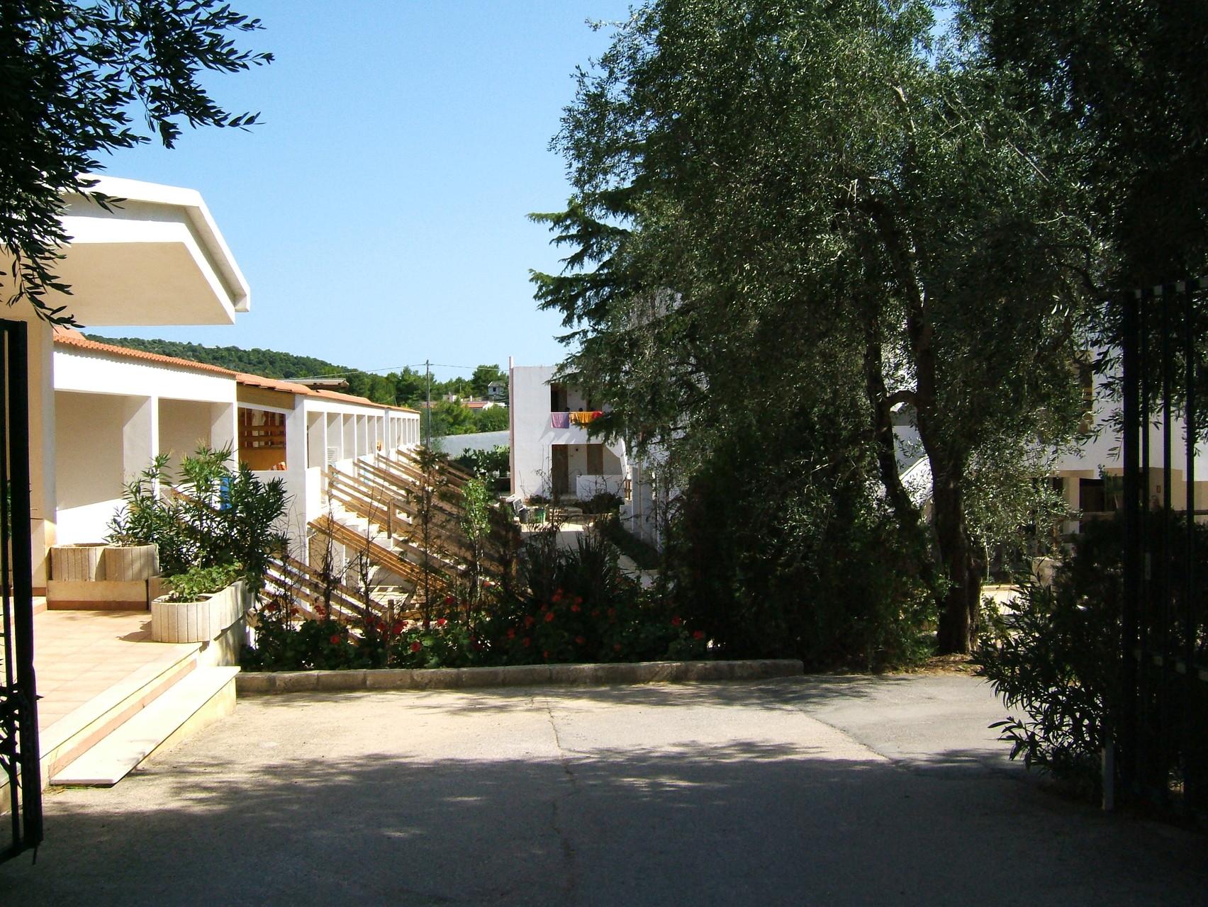 Villaggio Gallo a Viest: esterni