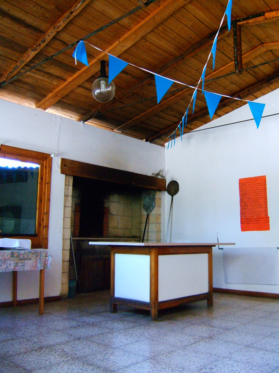 Villaggio Gallo a Vieste: la pizzeria con forno a legna