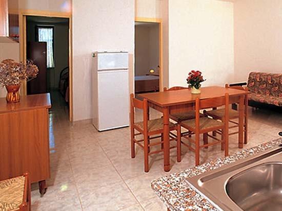 Villaggio Gallo a Vieste: interni degli appartamenti