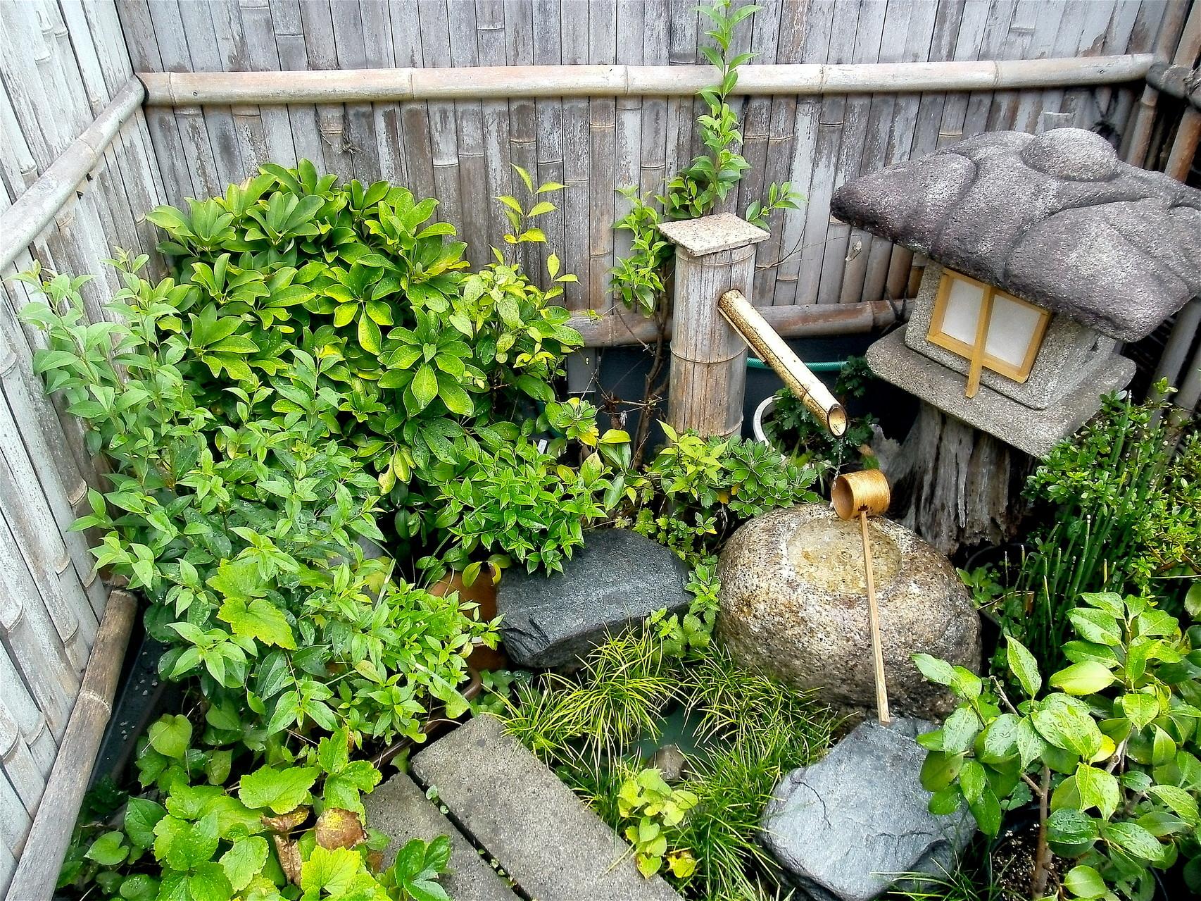 松月庵空中庭園蹲い