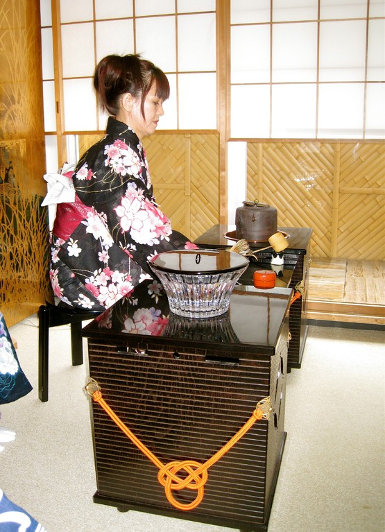 立礼点前 太田恵子