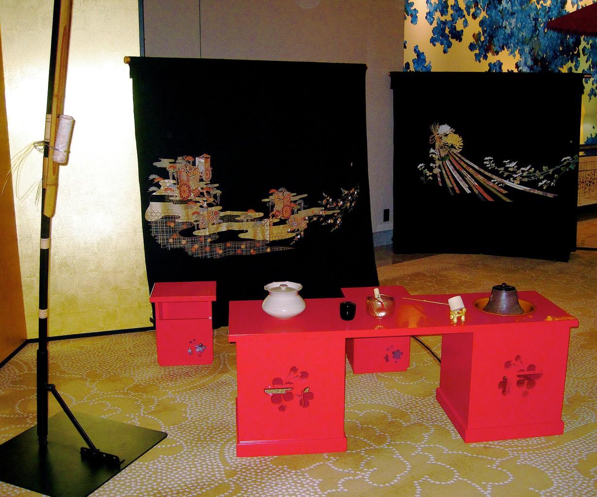 水指 砂金袋(パレスホテル東京)