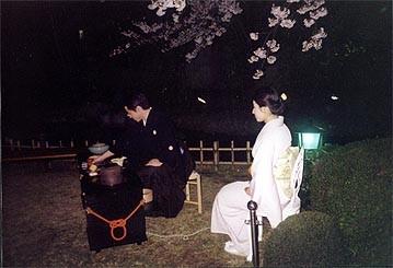 観櫻会茶会