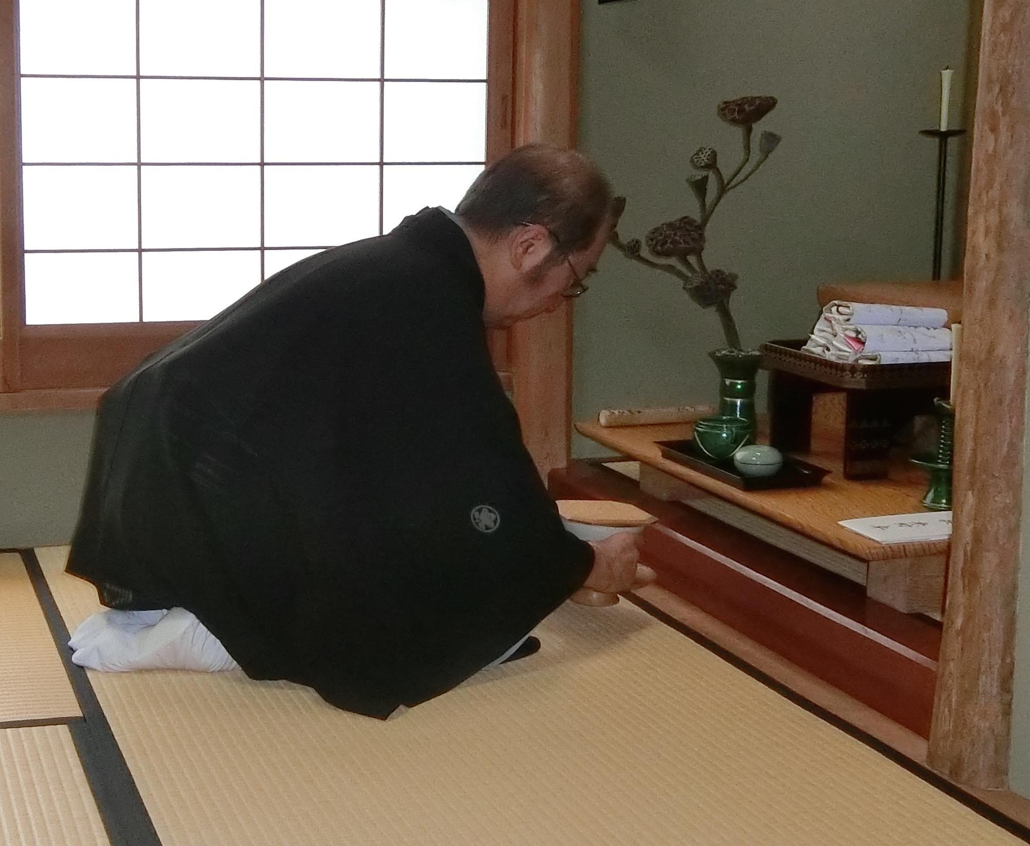 献茶取り次ぎ田中風雅