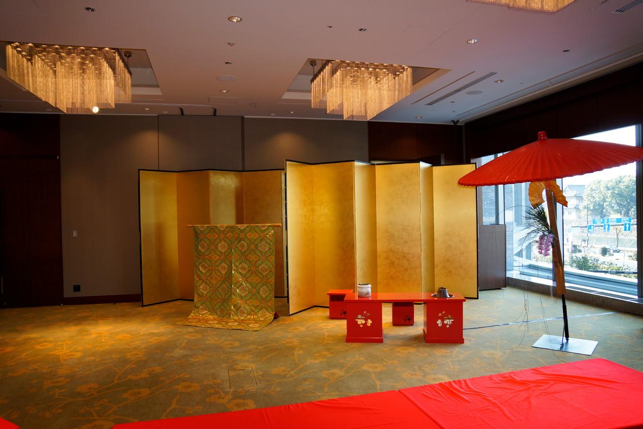 パレスホテル東京 2階 梅の間 全景