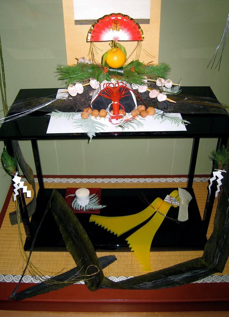 台子蓬莱飾り