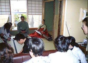 韓国の人間国宝 韓国琴とのコラボレーション