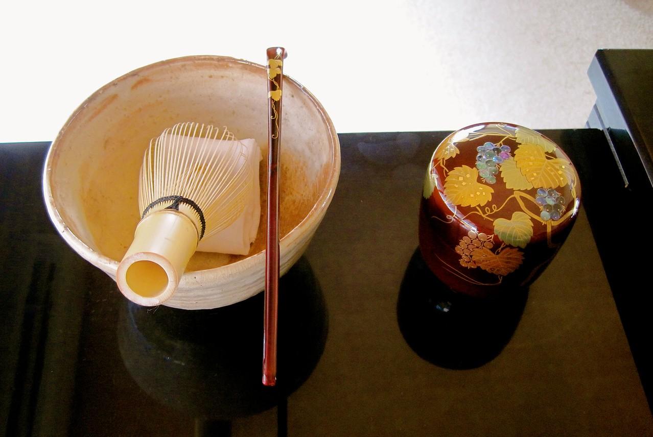 蔦蒔絵茶杓