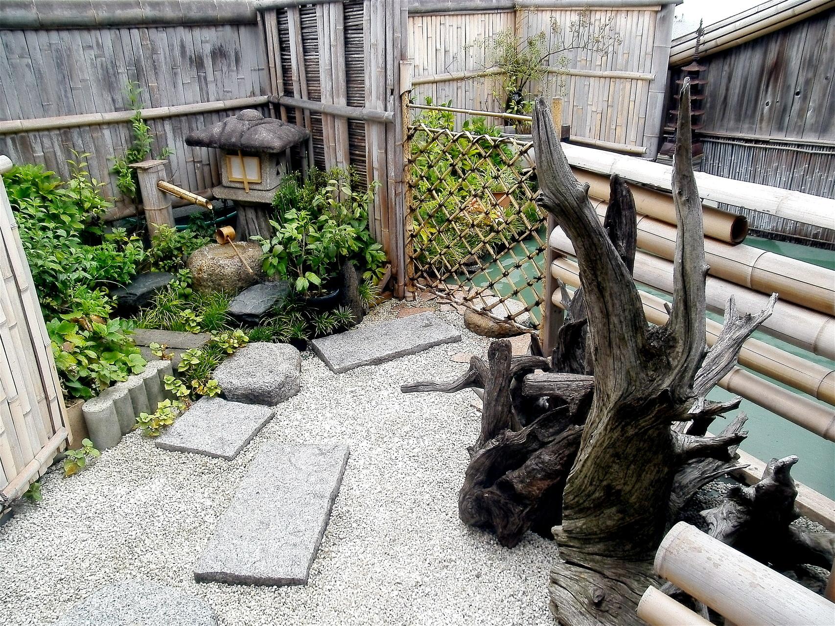 松月庵空中庭園