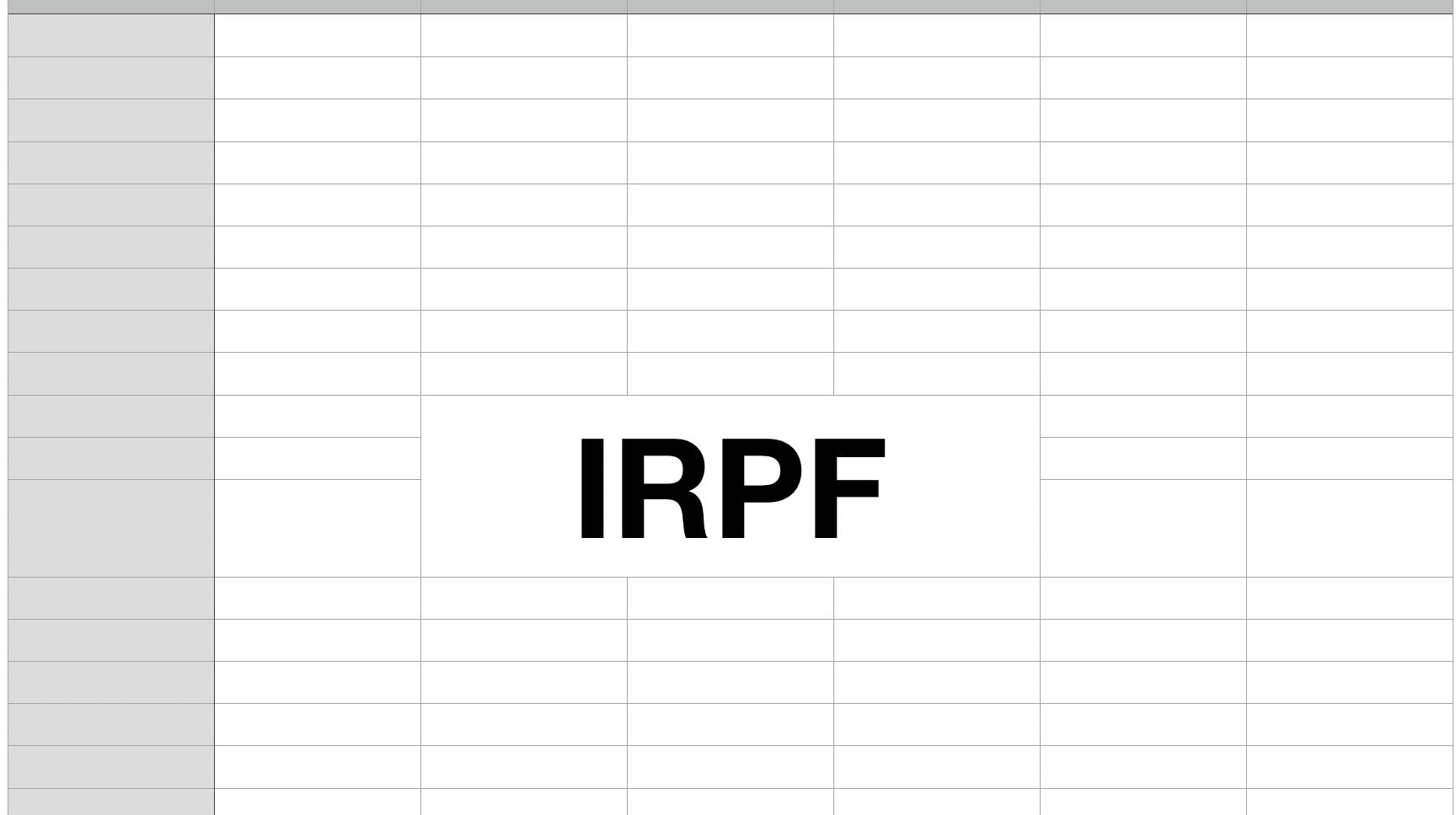 Cómo HACER El IRPF De Una FACTURA Con NUMBERS 2021