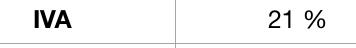 Porcentaje de Iva en una factura echa en plantilla Numbers