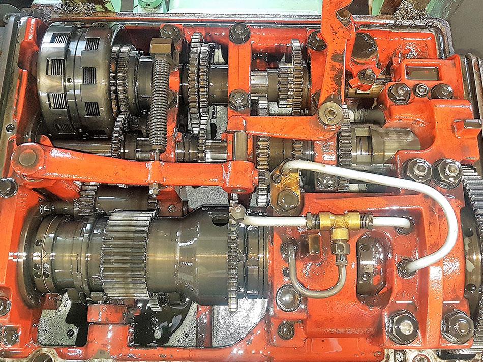 Drehmaschine Oerlikon-Bührle DMA4