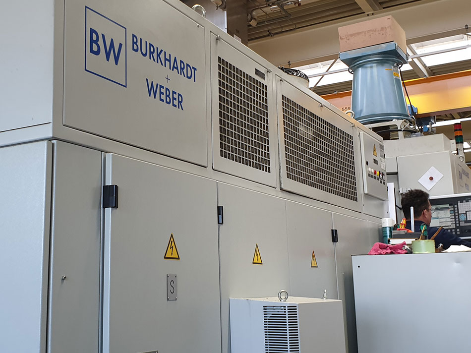 Fräsmaschine Burkhardt + Weber MCR 60