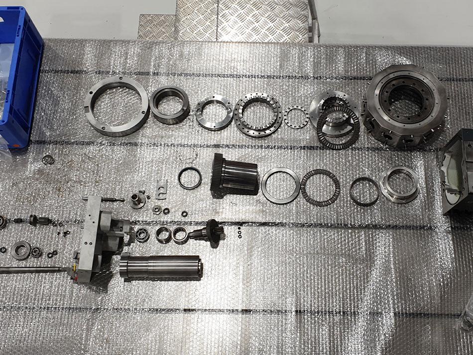 Werkzeugscheibenrevolver Sauter
