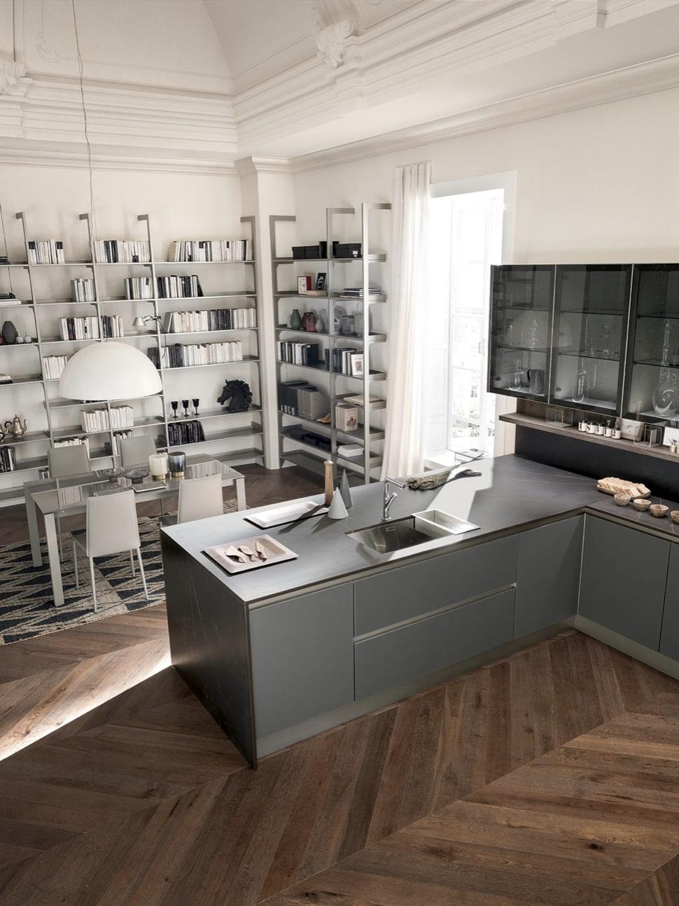 Cucina moderna Febal - modello Kaleidos