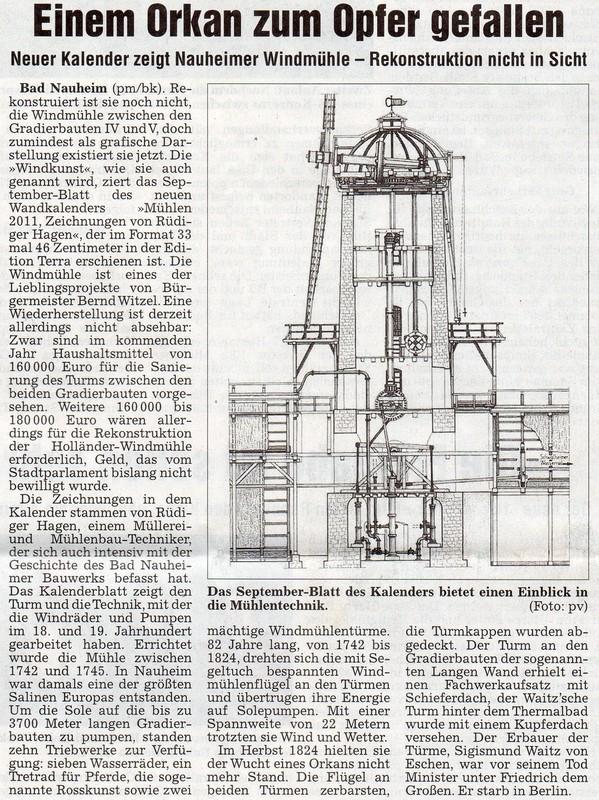 Wetterauer Zeitung, 23. November 2010