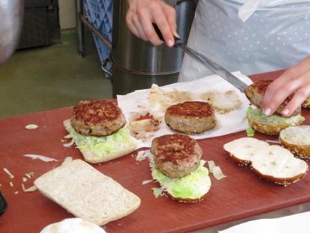 Burger zusammensetzen