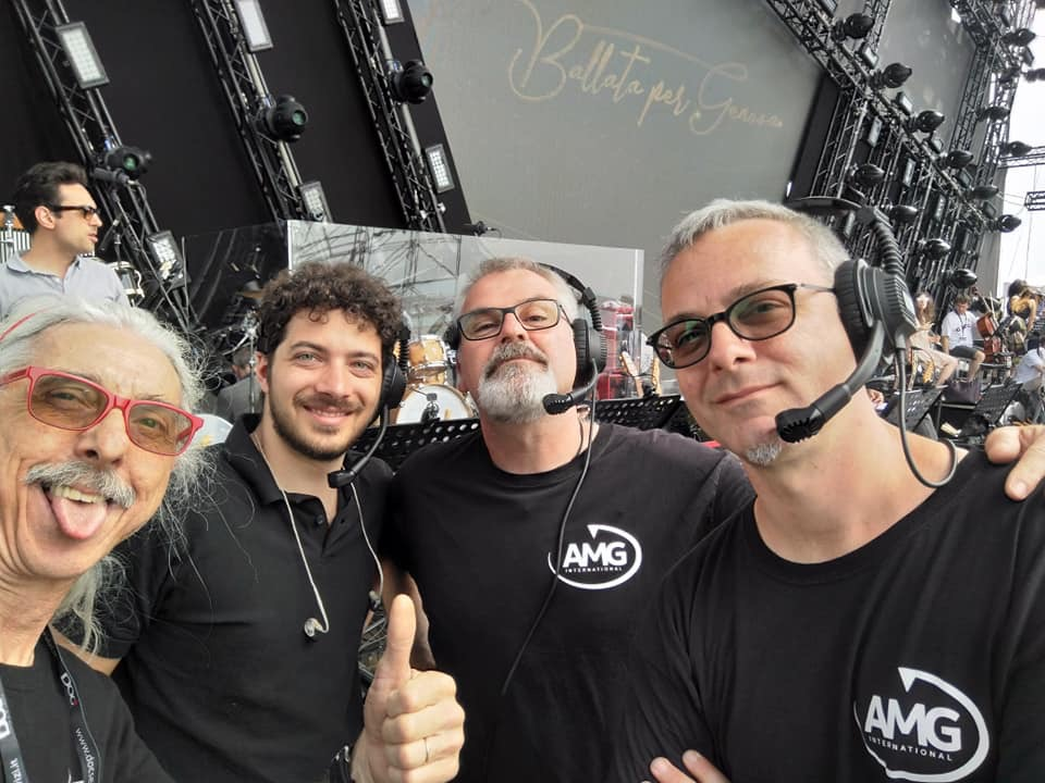 UNA BALLATA PER GENOVA 2019 - AMG - RF & MICROPHONE