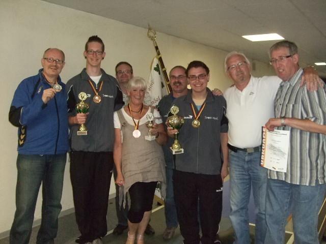 Teilnehmern aus Hessen mit GSG Offenbach und GSV Kassel