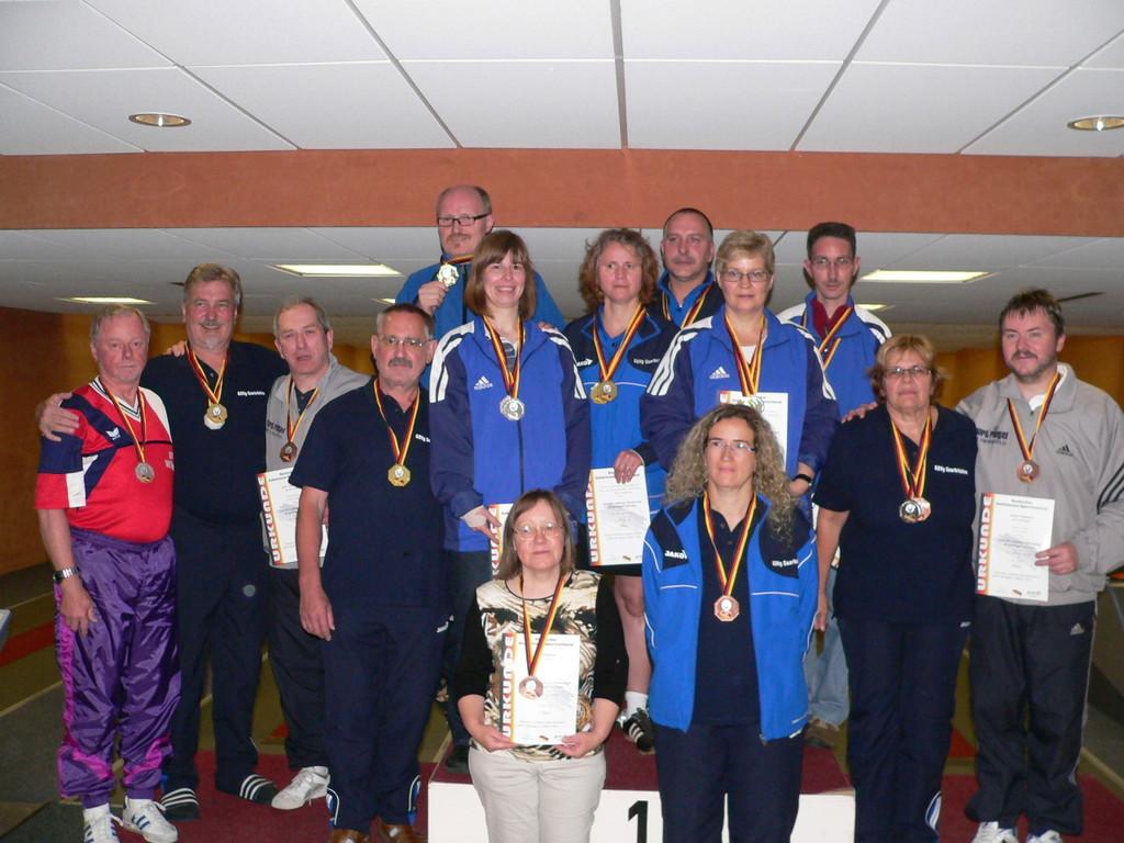 Alle Einzel Medaillengewinner