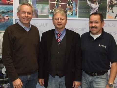 Siehe Foto: Links von Guido Ise ( 2. Vorsitzender ) Mitte: DGS-Präsident Karl-Werner Broska Rechts von Dieter Messing ( HGSV- Vorsitzender )