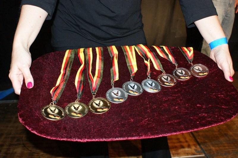 Schöne DGS-Siegermedaillen