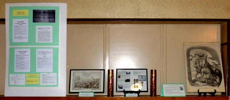 """L'armistice, le diplôme de Germaine Piochon, les obus décorés de Louis Girard et la """"Bêtise au front de taureau vaincue par la France"""""""