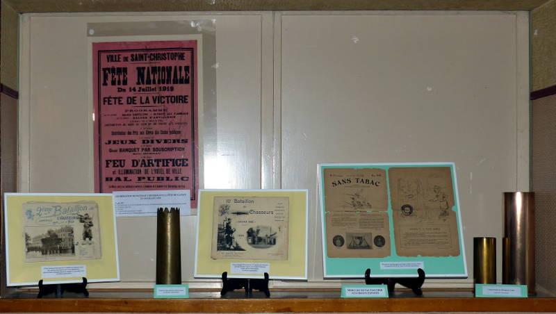 """Le 14 juillet 1919, les bataillons de chasseurs, des obus décorés et le journal """"Sans tabac"""""""
