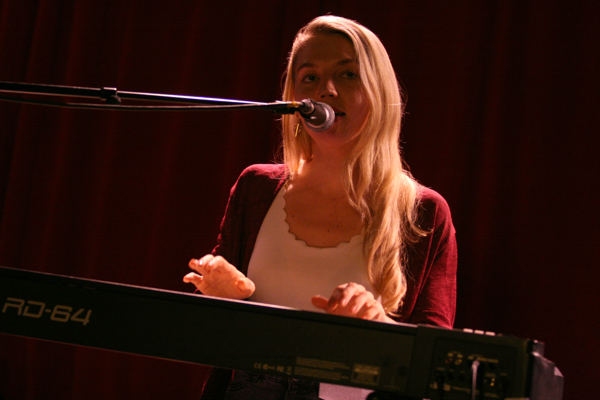 Maddy Rose @ Singer/Songwriter Nacht im Wombat's Wien, 29.10.2019 (c) miggl.at