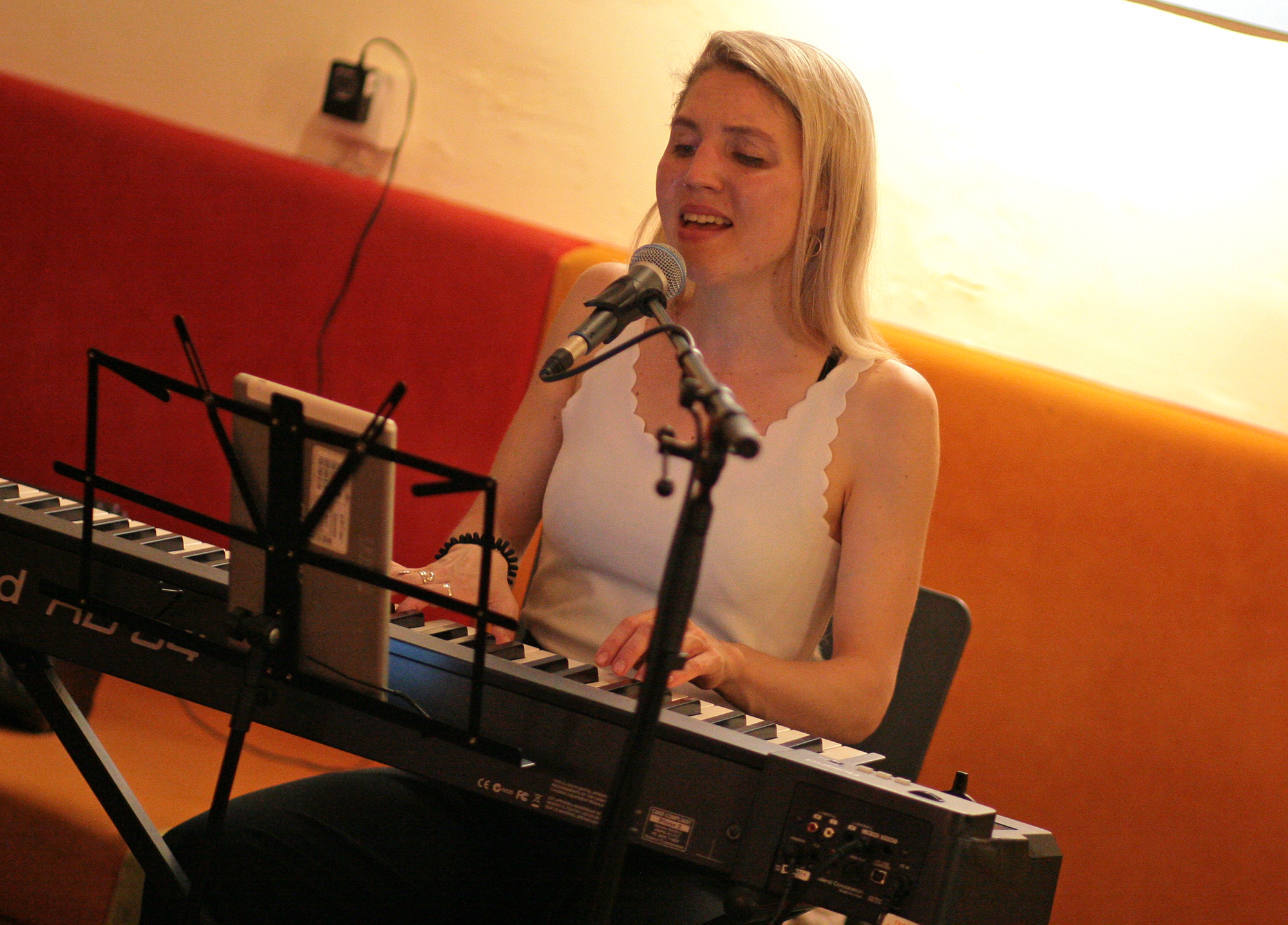 Maddy Rose solo @ Weltcafé Wien, 12.06.2020 (c) miggl.at