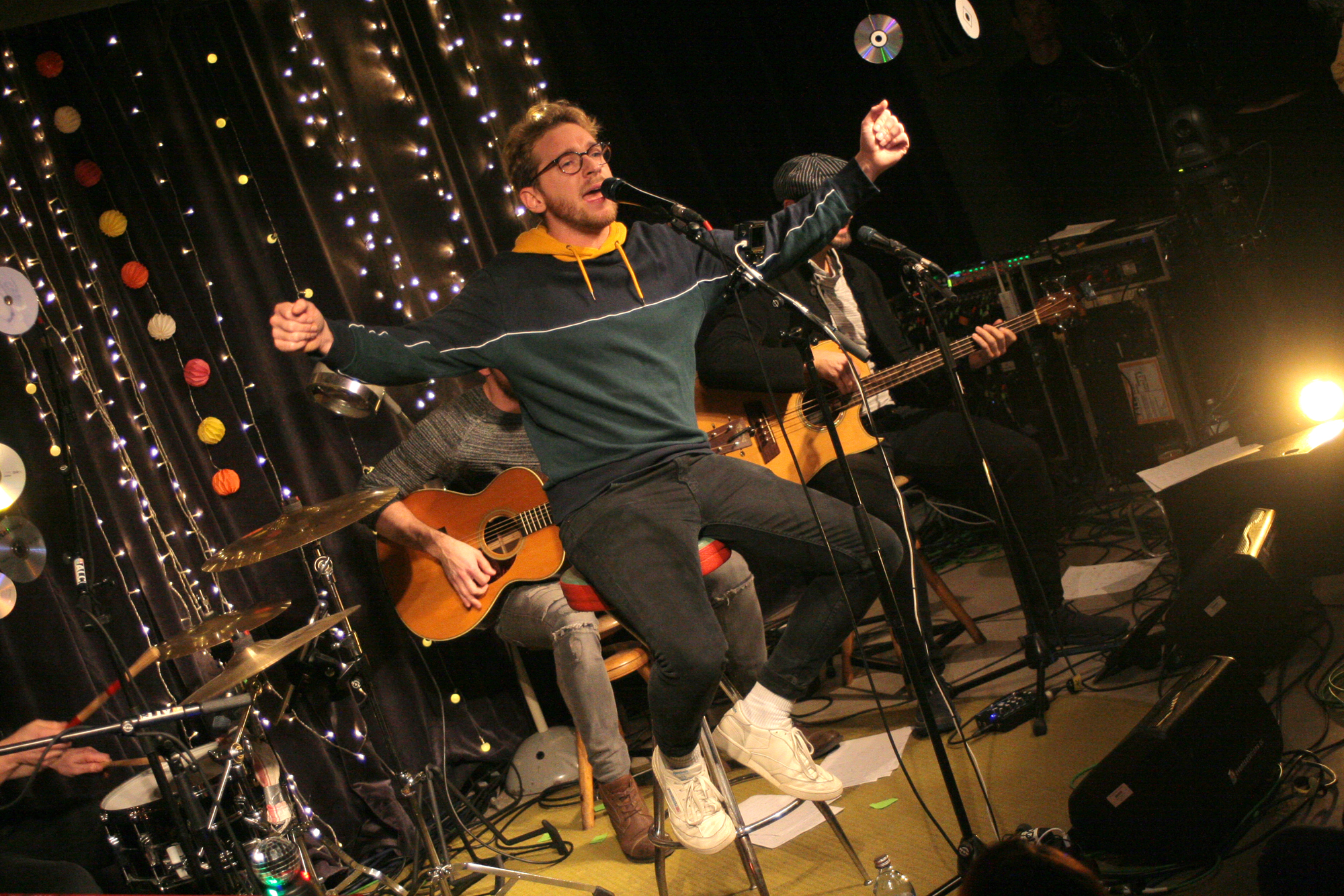 Nathan Trent @ Charity Special im Dachboden Wien, 03.12.2019 (c) miggl.at