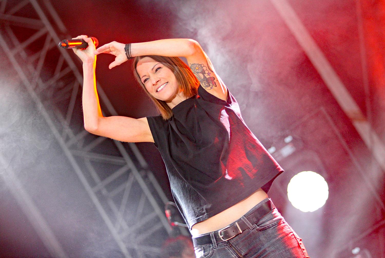 Christina Stürmer & Band @ Donauinselfest, 22.06.2019 (c) migglpictures