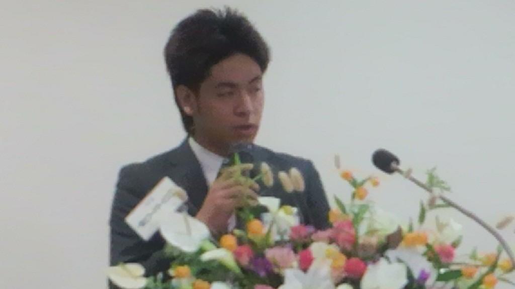 佐藤貴文 同盟学寮委員長