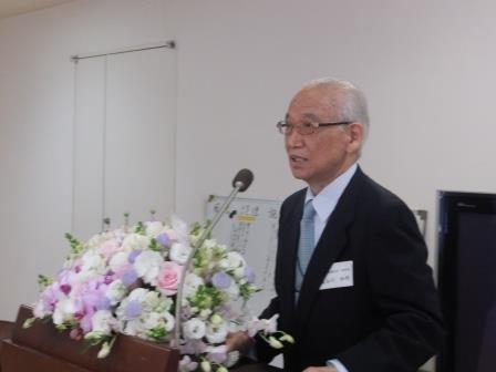 新聞通信調査会理事長 長谷川和明氏