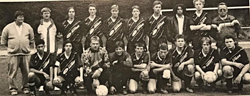 Die A-Jugend in Spielgemeinschaft: DJK St. Ingbert / SV St. Ingbert / SV Oberwürzbach (Bezirksliga Nord/Ost) | Trainer: Hans-Jörg Redel, Betreuer: Peter Weidmann, Peter Grell