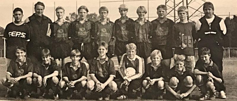 Die C1-Jugend in Spielgemeinschaft: DJK St. Ingbert / SV St. Ingbert / SV Oberwürzbach (Verbandsliga) | Trainer: Norbert Biller, Betreuer: Wolfgang Frühauf