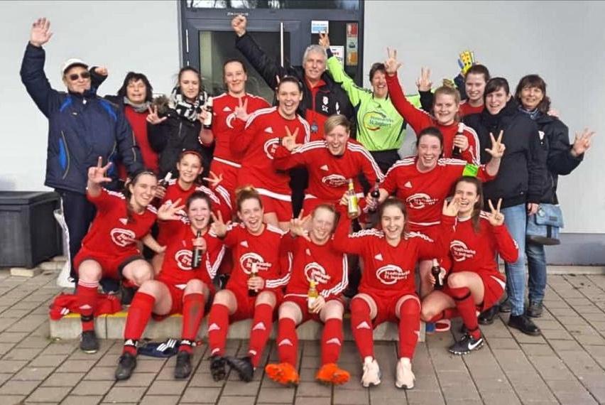 Frauenmannschaft am 16.03.2019 / 1:0 Sieg im ersten Heimspiel 2019 gegen SC Falscheid