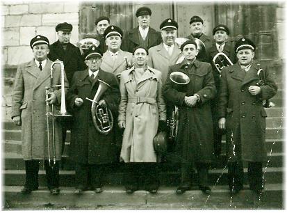 Städtischer Musikverein Erkelenz Blechbläser in den 50er Jahren