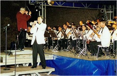 Erkelenzer Musiktage Hohenbusch 1999 - Galakonzert mit dem Radio Blasorchester Leipzig